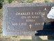 "Corp Charles Earnest ""Charlie"" Payne"