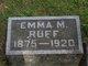 Emma M. <I>Jackson</I> Ruff