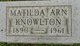 Matilda <I>Arn</I> Knowlton