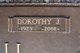 Dorothy J. <I>Crump</I> Riggall