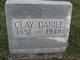 Profile photo:  Clay Daniel