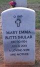 Mary Emma <I>Butts</I> Shular