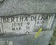 Bertha Delray <I>Eldreth</I> Baldwin