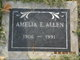 Profile photo:  Amelia Edna <I>Evans</I> Allen