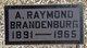 Profile photo:  A Raymond Brandenburg
