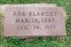 Profile photo:  Ada Blanche <I>Sappington</I> Dabbs