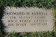 CDR Howard W Barkell