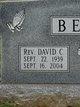 Profile photo: Rev David Carlton Bevill