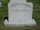 Anne <I>Martin</I> Ackerman