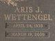 Profile photo:  Aris J. <I>Wettengel</I> Bienfang