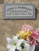 """Lena Giovanna """"Joan"""" <I>Gori</I> Albright"""