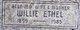 Wille Ethel <I>Deason</I> Davis