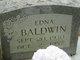 Edna Isabell <I>Baldwin</I> Baldwin