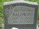 Beulah May <I>Baldwin</I> Baldwin