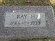 """Raymond Harvey """"Ray"""" Burrill"""