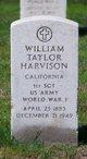 Profile photo:  William Taylor Harvison