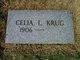 Celia L Krug