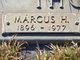 Marcus Harold Thomas