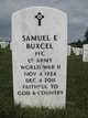 Profile photo:  Samuel Evald Buxcel
