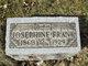 Josephine <I>Wisenock</I> Frank