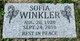 Profile photo:  Sofia <I>Bakaluk</I> Winkler