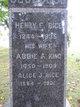 Profile photo:  Abbie A. <I>King</I> Rice