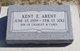 Kent E Arent