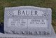 Profile photo:  John G. Bauer