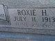 Roxie <I>Harris</I> Garner