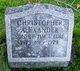 Christopher Merrill Alexander
