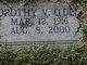 Dorothy <I>Vanderford</I> O'Dell