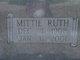 """Mittie Ruth """"Mit"""" <I>Garner</I> Varner"""