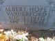 Albert Hope Vanderford