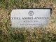 Ethel Jewel <I>Andrus</I> Anderson