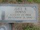 Profile photo:  Alice Lee <I>Rockefeller</I> Downs