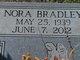 Nora <I>Bradley</I> Massey