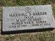 Profile photo:  Maxwell S. Barker