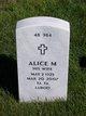 Profile photo:  Alice M Robinson
