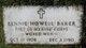 Bennie Howell Baker