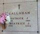 Profile photo:  Beatrice J. Callahan