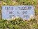 Cecil Joseph Taggart