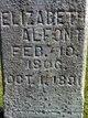 Elizabeth <I>Freeborn</I> Alfont