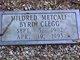 Mildred Jewell <I>Metcalf</I> Clegg