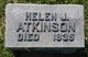 Profile photo:  Helen J. Atkinson
