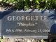 """Gorgie"" Georgette"
