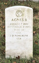 Profile photo:  Agnes B Pomerene