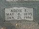 Profile photo:  Addie E. <I>Elrod</I> Abercrombie