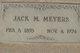 "John Matthew ""Jack"" Meyers"