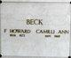Profile photo:  Camilli Ann <I>Jones</I> Beck