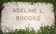 Profile photo:  Adeline L. Brooks